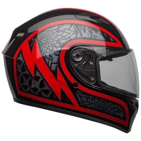 Bell Qualifier Scorch Helmet_Black Red