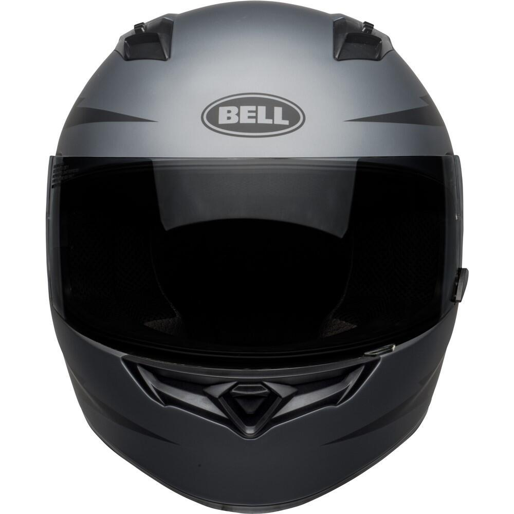 The Bell Qualifier raises the performance/value quotient to exceptional new levels. From the aggressive and aerodynamic shell to our exclusive Click Release TM shield system, the Qualifier comes packed with many features that come directly from our industry-leading Star. With exceptional craftsmanship, it looks stylish and is known for its performance-oriented designing.