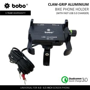 Bobo motorcycle charger, bobo mobile mount for motorcycle