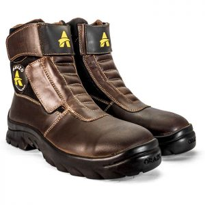 Orazo boots, Orazo cocoa boots, boots for daily commute, CE certified boots.